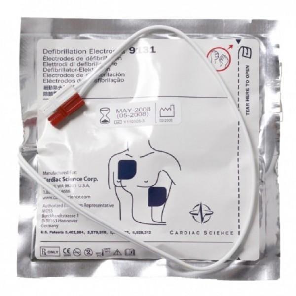 Électrodes défibrillation pour Cardiac Science G3