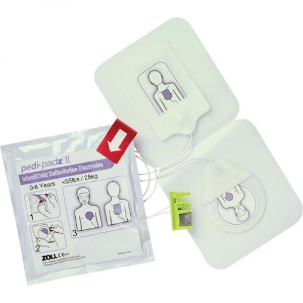 Électrodes Pedi-PadzMD II pour AED PlusMD
