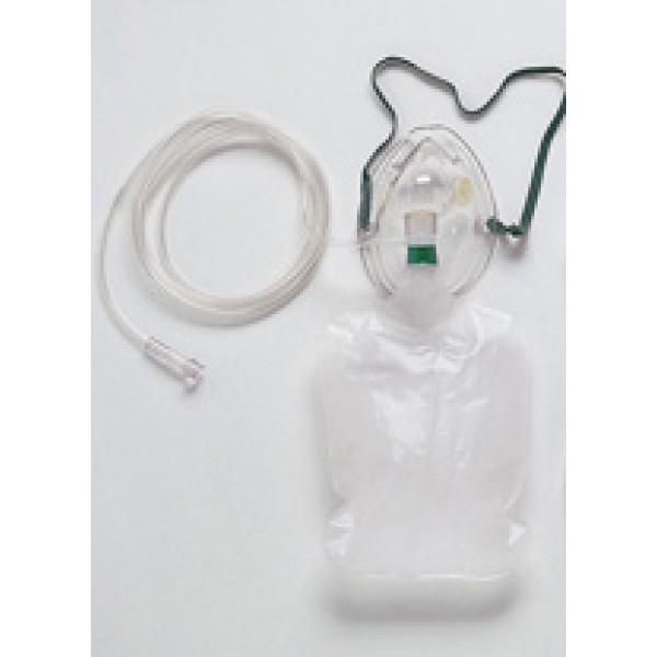 Masque O2 100% réservoir pédiatrique